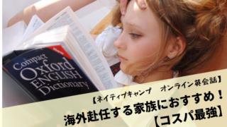 【ネイティブキャンプ オンライン英会話】海外赴任する家族におすすめ!【コスパ最強】