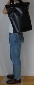 ワークマンプラス ZAT無縫製バッグ コーディネート