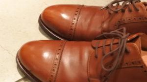 ジャランスリウァヤの革靴